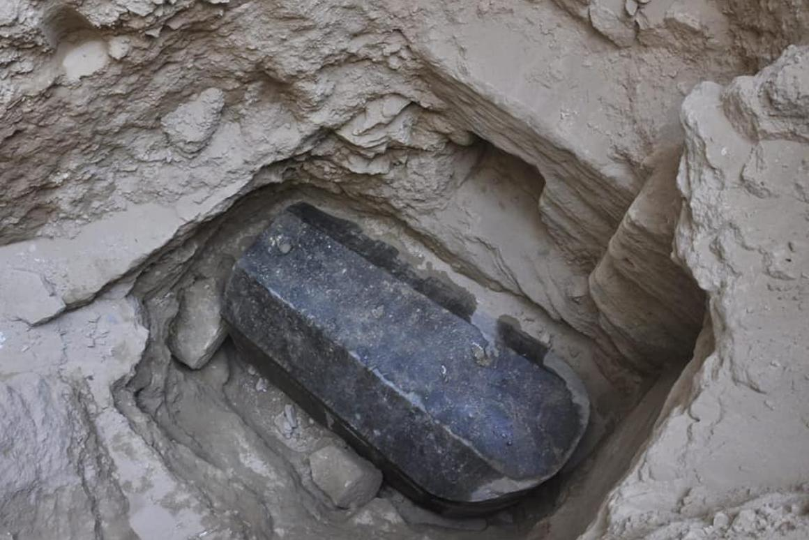 The sarcophaguswas found in a tomb 5 meters (16 feet) below the surface