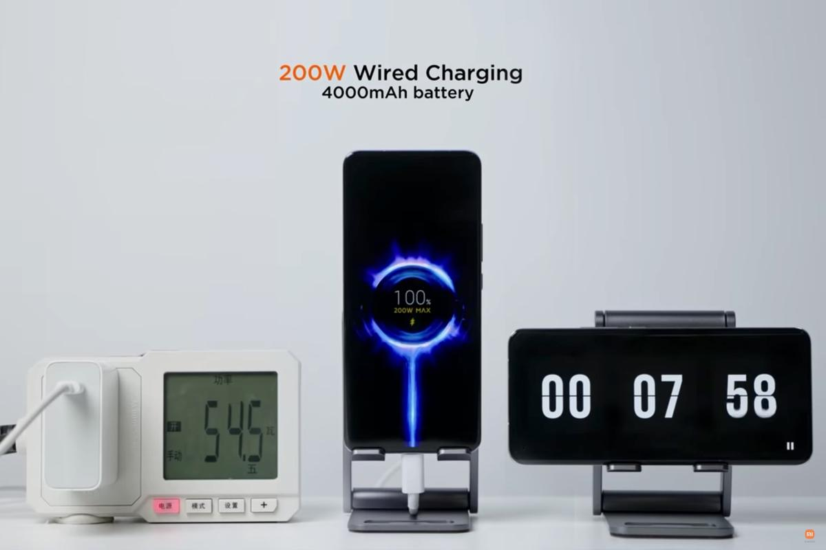 0-100% in less than 8 minutes: Xiaomi has set new records for wired and wireless phone charging