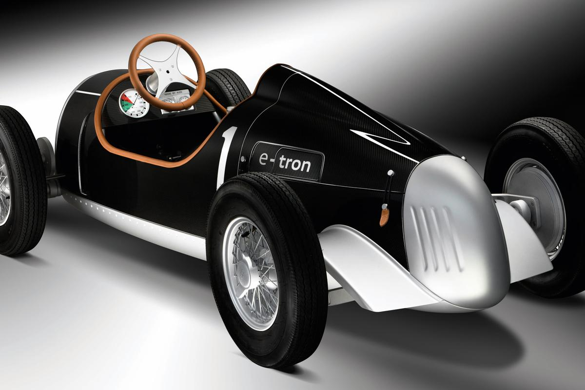 Audi's pint-sized Auto Union Type C e-tron study