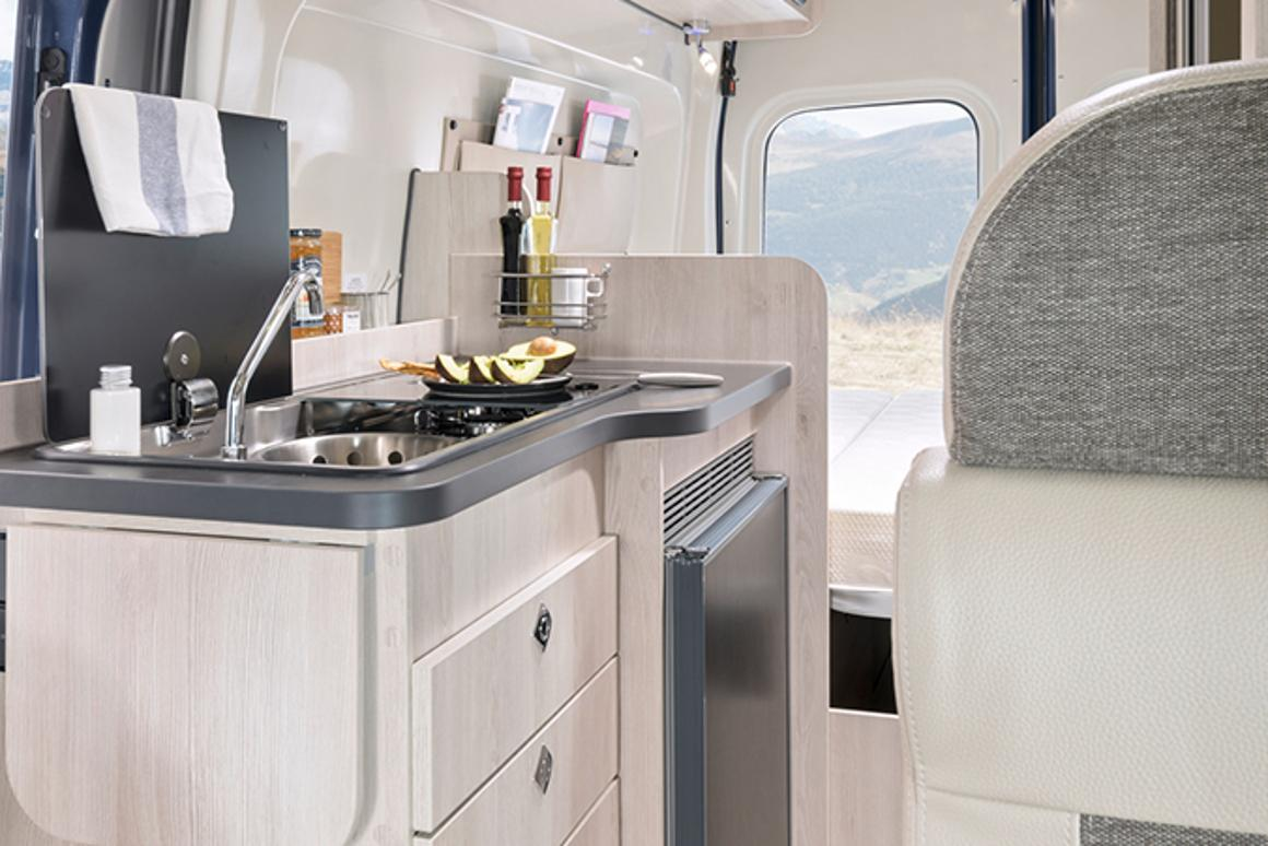Karmann's Ford Transit 4x4 camper van opens the gate to