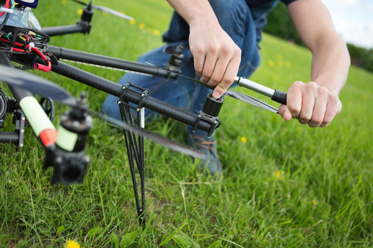 Satellite imagery has opened new doors for the monitoring of agriculture, though drones are poised to take things to new heights with better resolution images (Photo: Shutterstock)