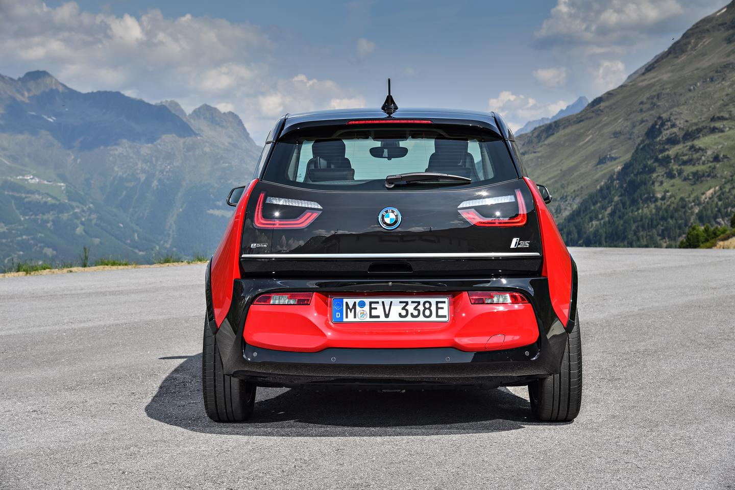 The BMW i3s will debut in Frankfurt at the International Motor Show in September