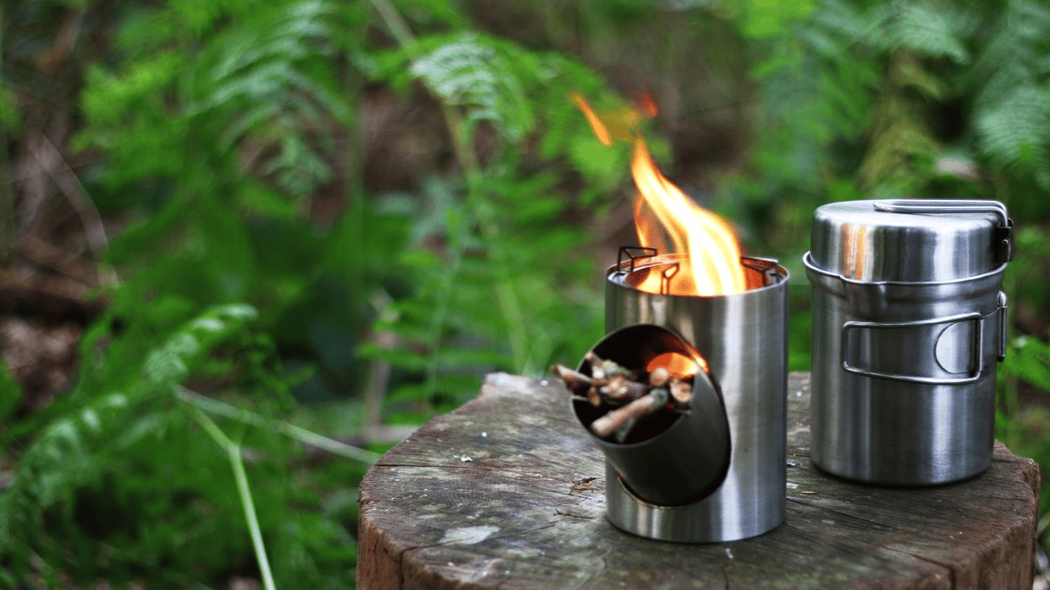 The designer is looking to raise funds on Kickstarter for his cleverly designed Kombuis cooking stove