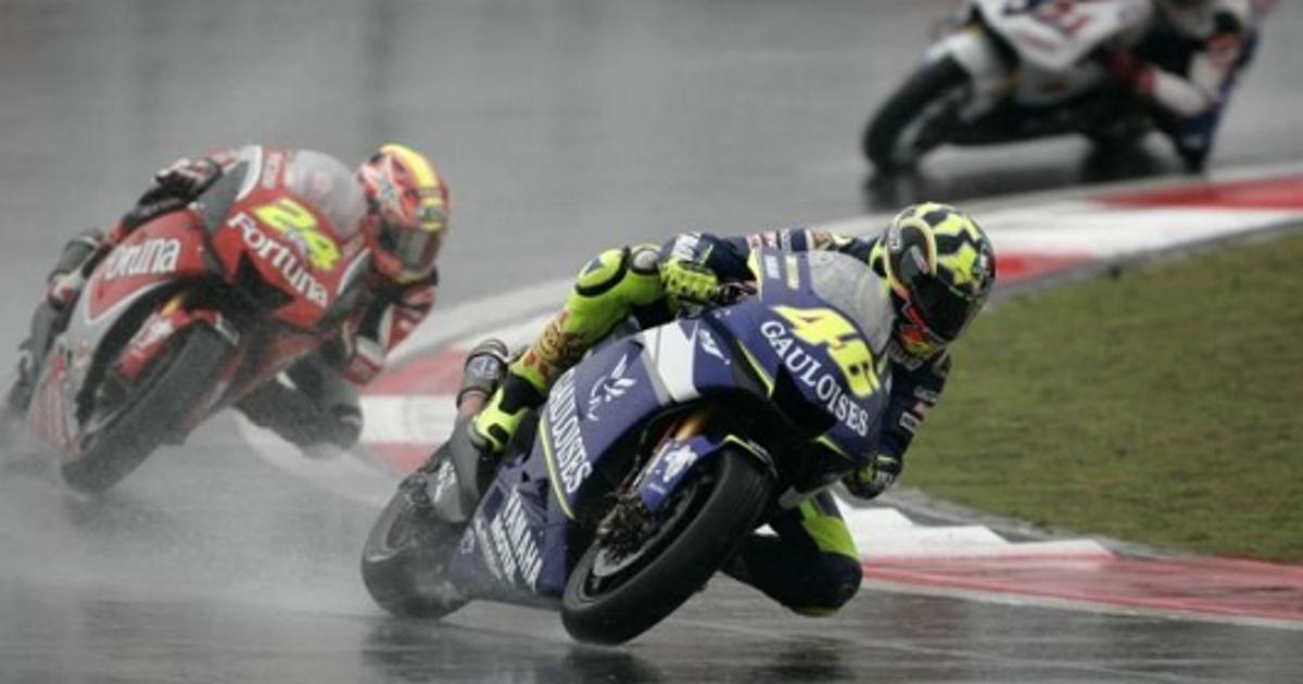 Motogp Rd 3 Rossi Wins Rain Swept Chinese Gp