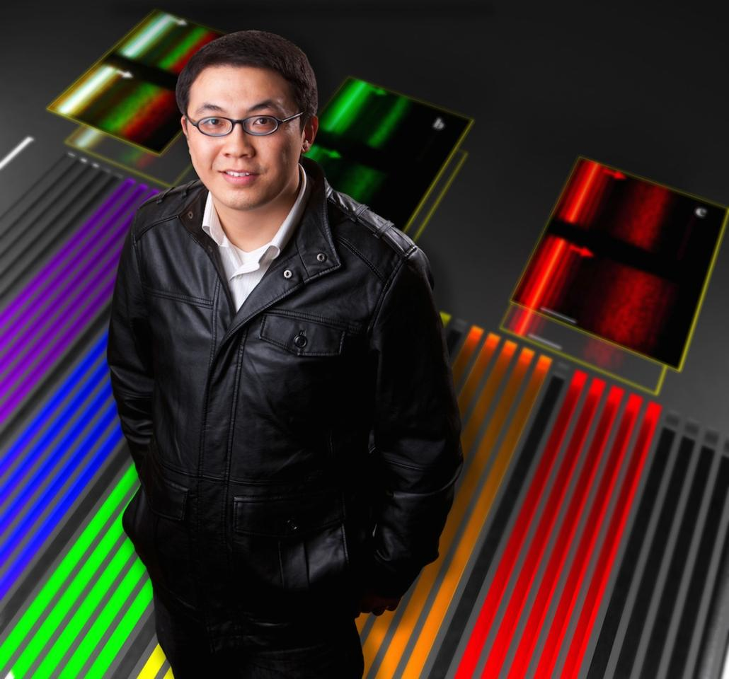Qiaoqiang Gan is the lead researcher on the study that produced the new solar still