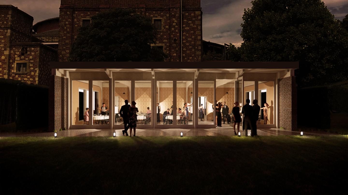 The Glyndebourne Opera Croquet Pavilion is slated to begin construction in September and is due for completion in March 2022