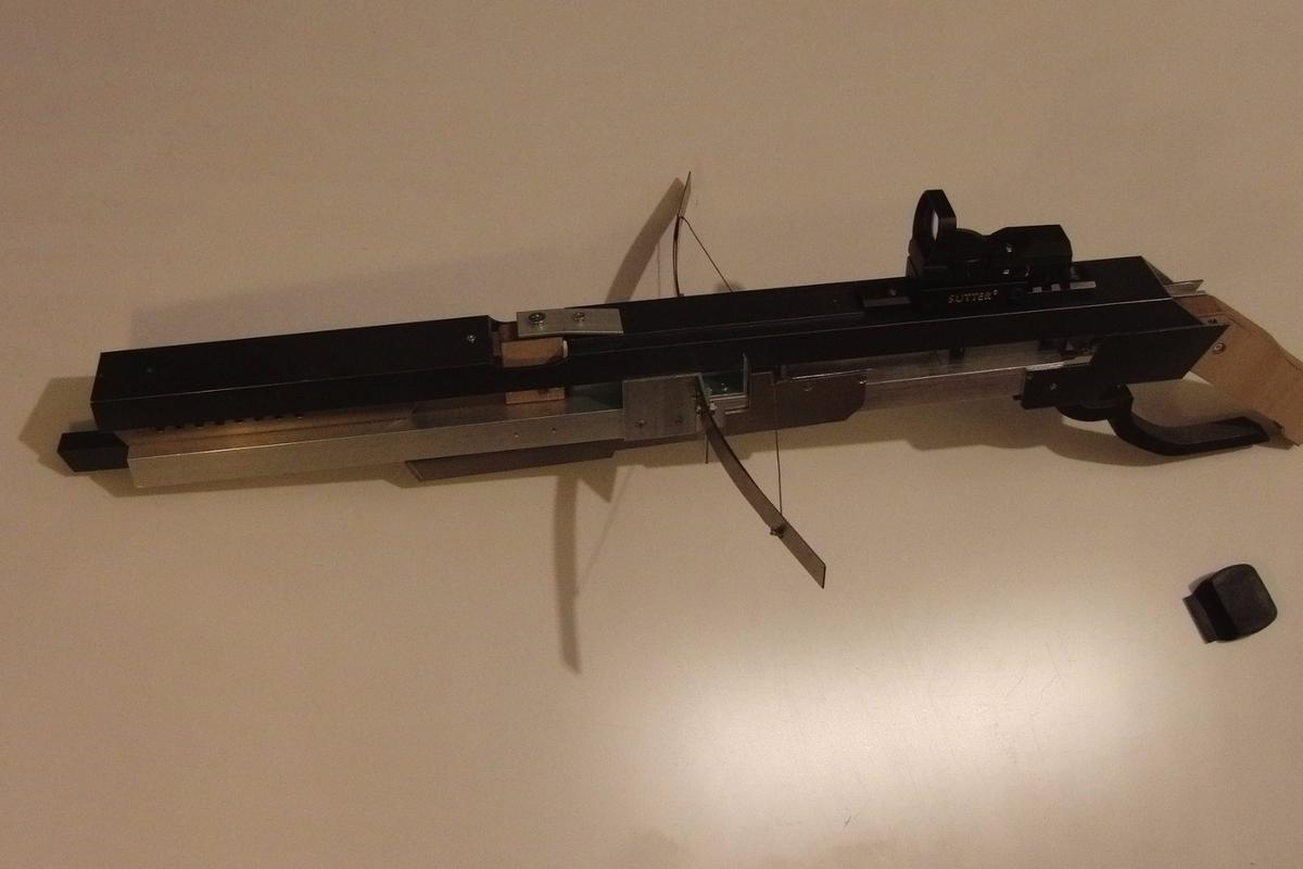 Patrick Priebe's airsoft BB crossbow