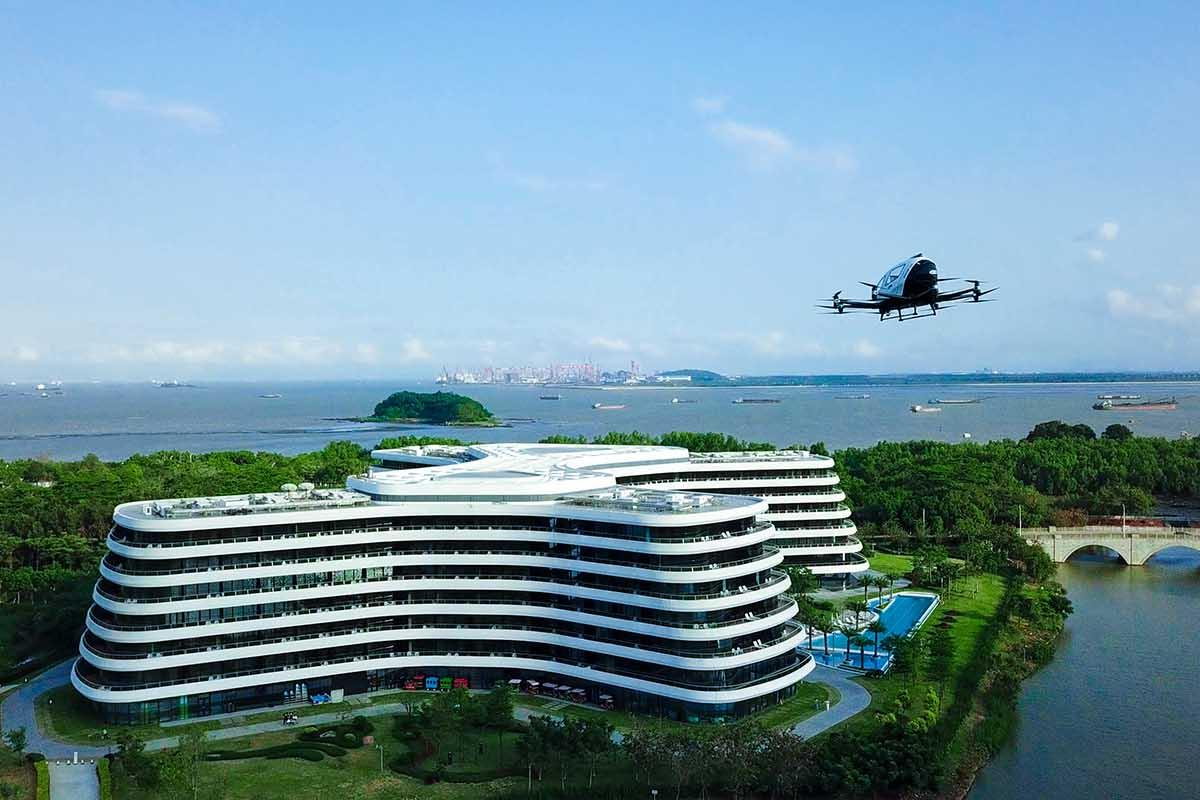 The first project to launch under a new collaboration between EHang and LN Holdings will be an air tourism service for guests at the LN Garden Hotel in Nansha, Guangzhou