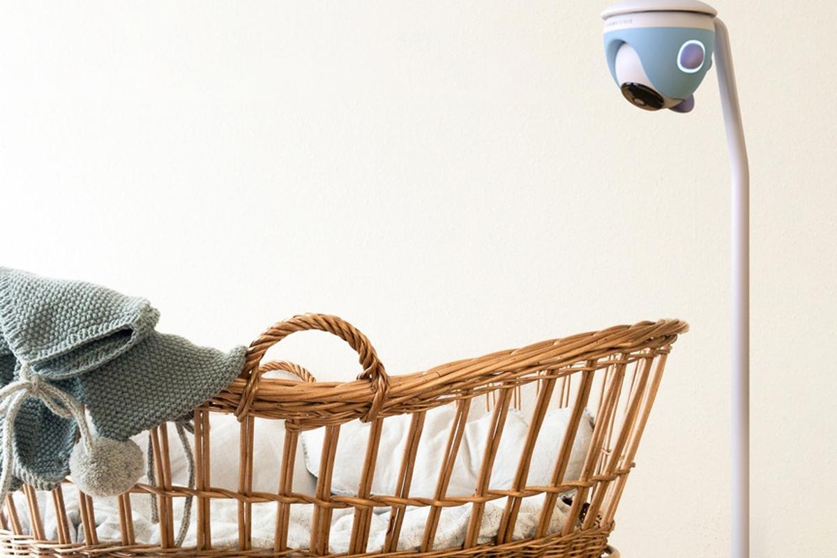 The SimCam Baby smart baby monitor keeps a watchful eye on baby at all times