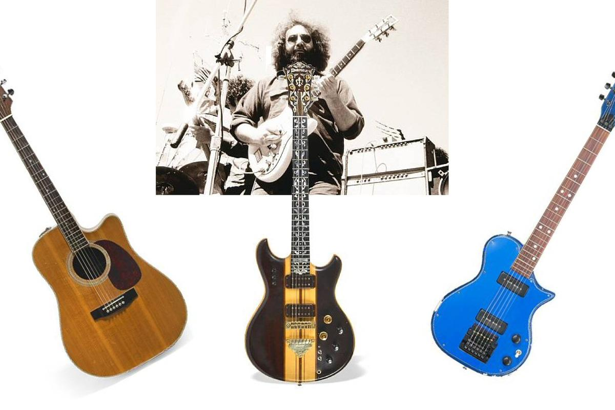 On the anniversary of the Grateful Dead's famous 1977 Cornell show, Bonhams San Francisco will host a Visions of Garcia auction that includes three of the great man's guitars