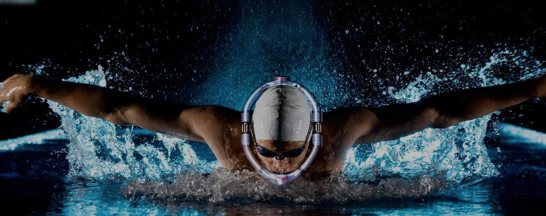 The Powerbreather allows swimmers to focus all their attention on the water ahead