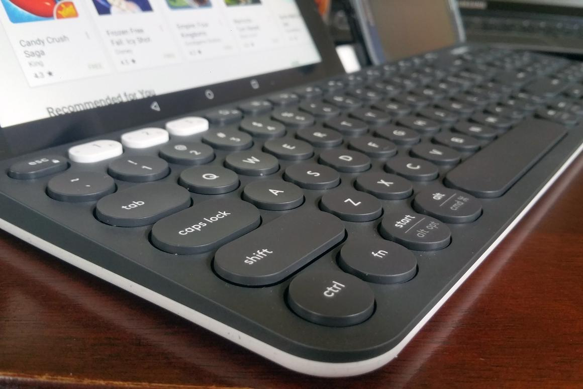 Review: Three-way typing with the Logitech K780 wireless