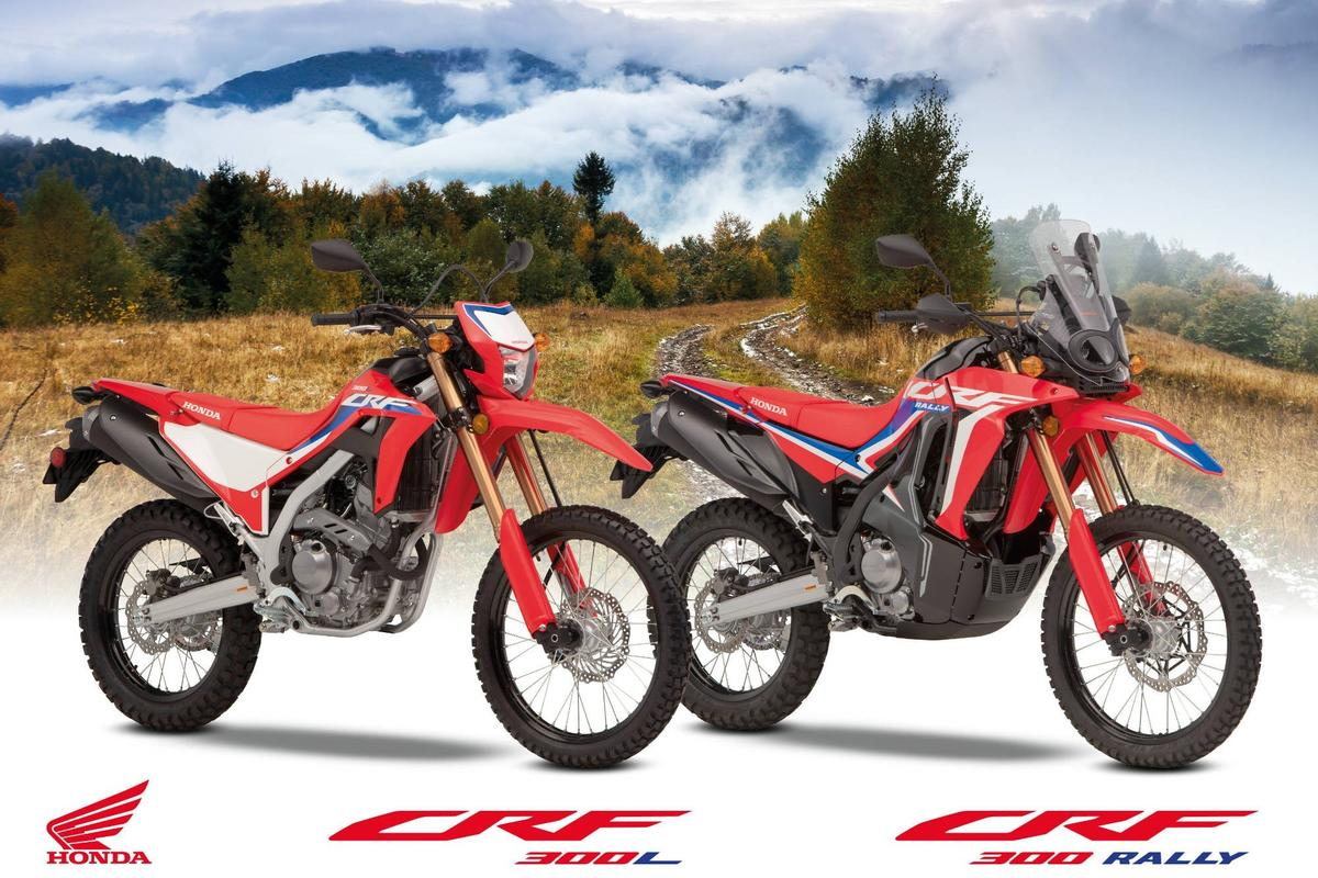 Honda introduces the 2021 CRF300L and CRF300 Rally with major updates