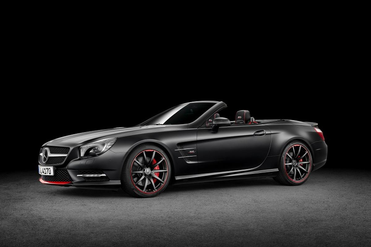 Mercedes has announced the SL Special Edition Mille Miglia 417