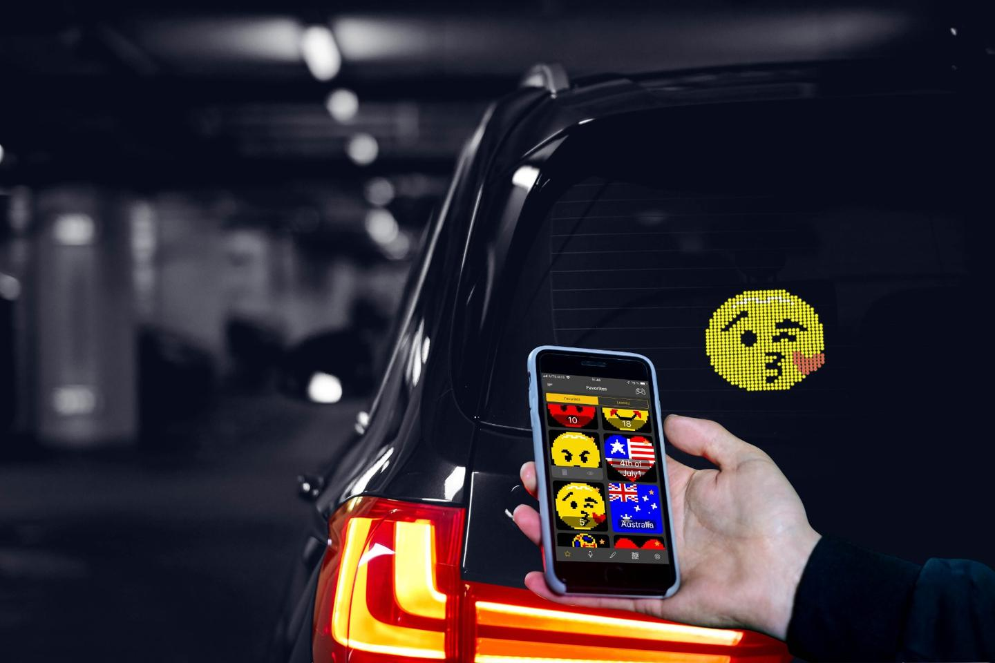 With 1,500 animated images to choose from, running out of ways toexpressyourself to your fellow motorists is unlikely