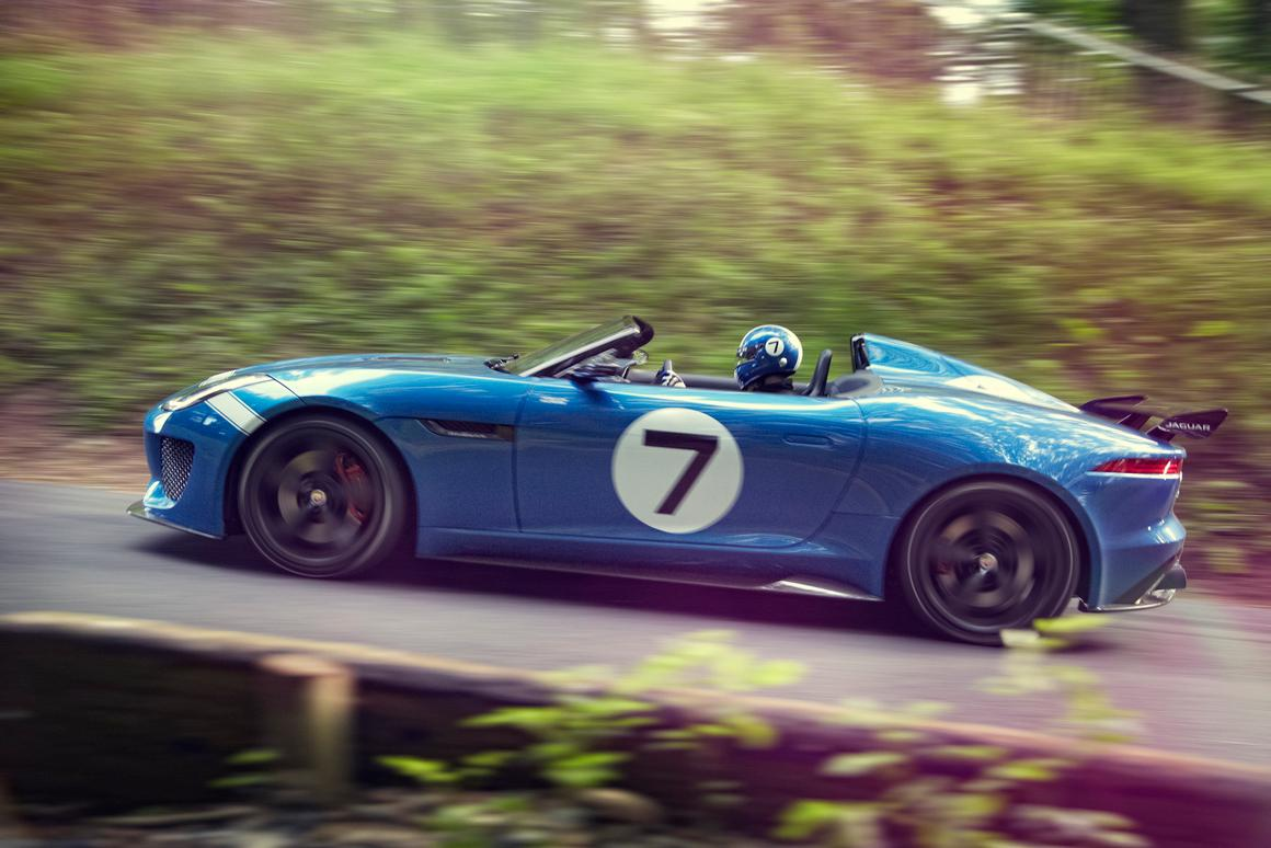 The Jaguar Project 7 debuts at the 2013 Goodwood Festival of Speed