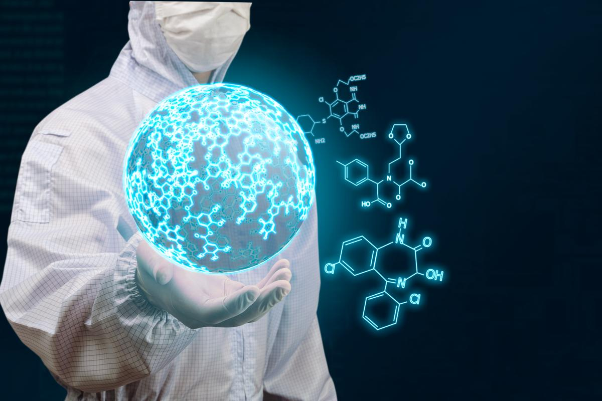 The University of Glasgow team have developed a chemical version of evolution (Image: Shutterstock)