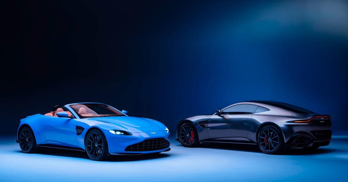 Aston Martin unveils 190mph 2020 Vantage Roadster