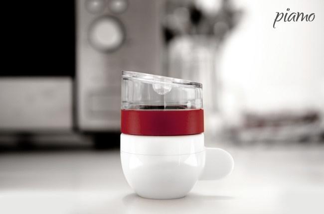 Piamo can brew a single serve espresso in 30 seconds in the microwave