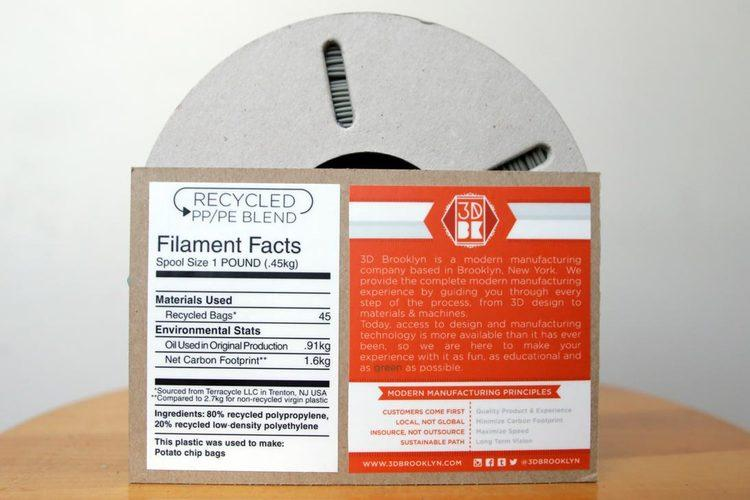 Terracycle converts old snack bags into plastic filament for 3D printing