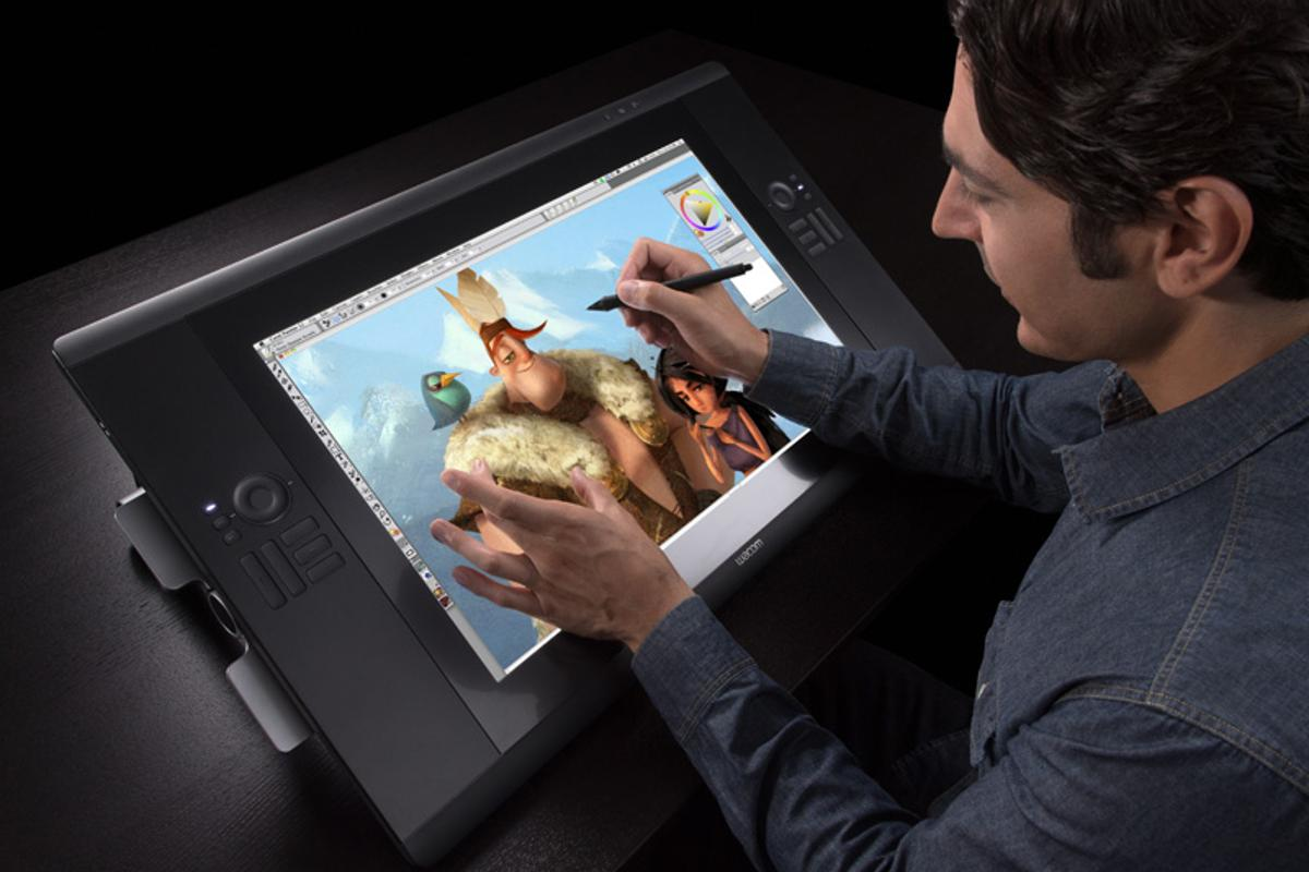 Muti-touch can be used to do things like manipulate a 3D model or pan, zoom and rotate an image