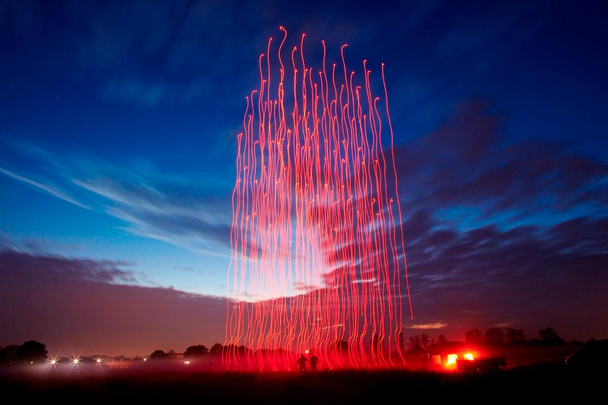 Further to offering quite a spectacular light show, the achievement could have some significance in advancing drone technology