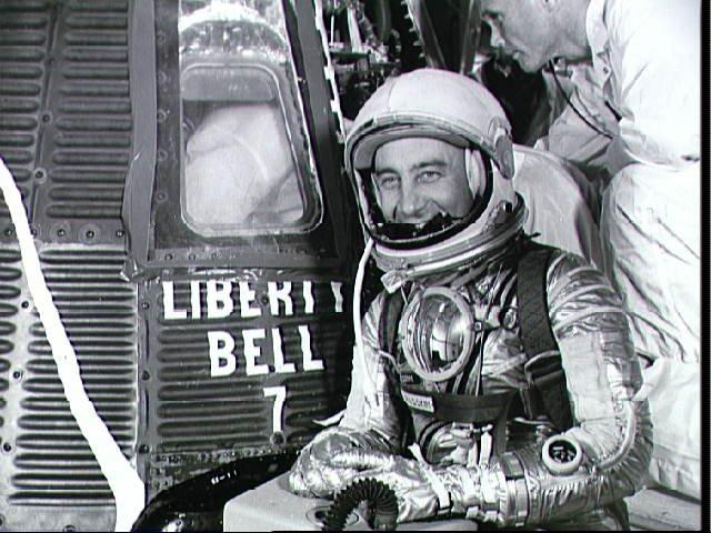 Gus Grissom and the Liberty Bell 7 spacecraft