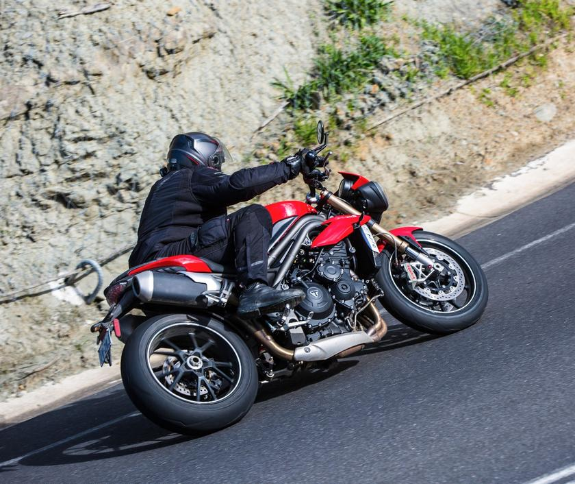 Review: Triumph's Speed Triple takes a great leap forward