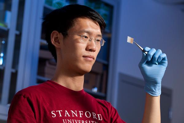 Researchers at the Stanford University have developed a flexible see-through li-ion battery