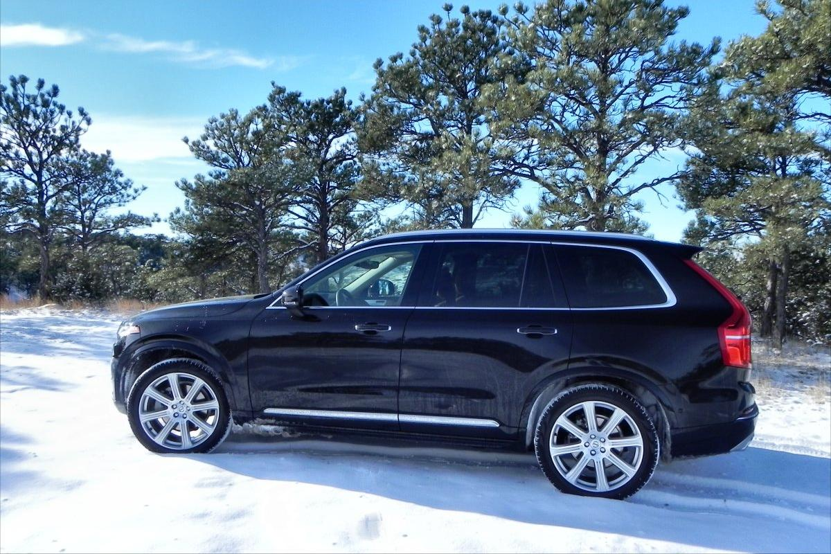 The exterior of the new 2016 XC90 is much more striking than before