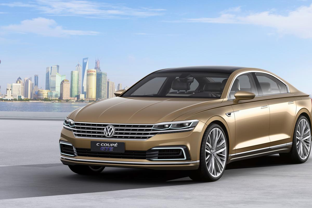 The Volkswagen C Coupé GTE concept was designed to appeal to the Chinese market