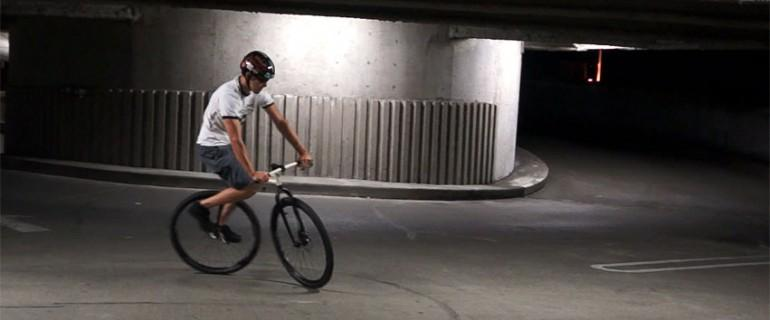 Riding the bicymple will feel much different than a traditional bike
