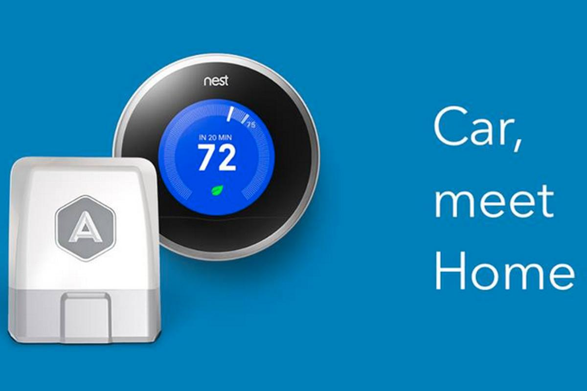 The Nest Smart Thermostat now works with Automatic's Connected Car Adapter