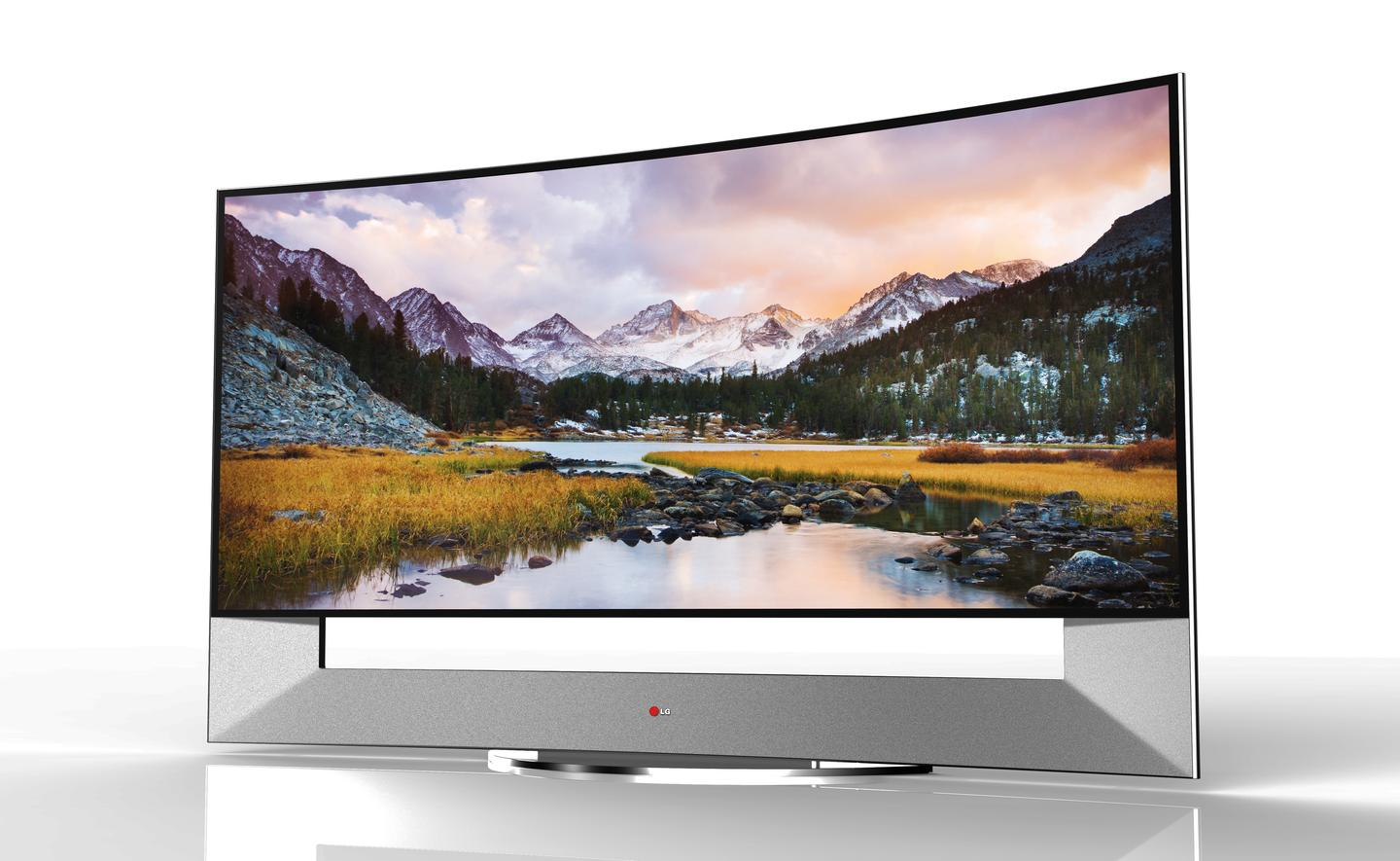 Measuring 105-inches diagonally and sporting a 21:9 aspect ratio, LG's upcoming 105UB9 could be the largest curved UHD TV in existence