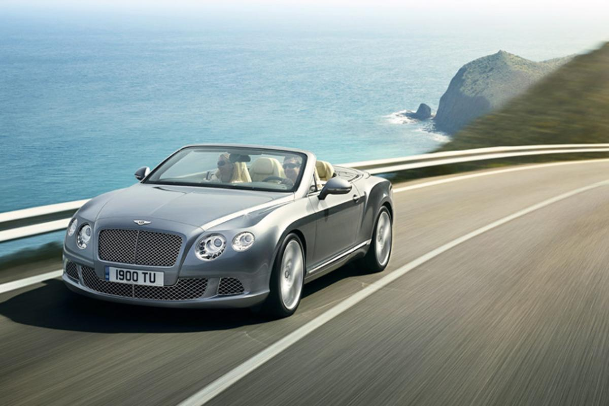 The 2012 Bentley Continental GTC