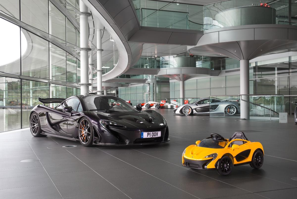 Big McLaren P1, meetlittle McLaren P1