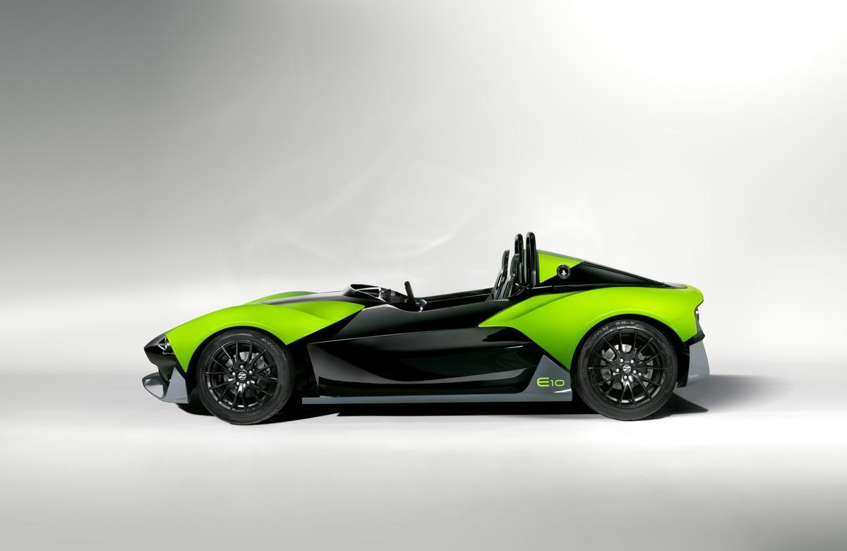 The Zenos E10 S gains 50 hp over the standard E10