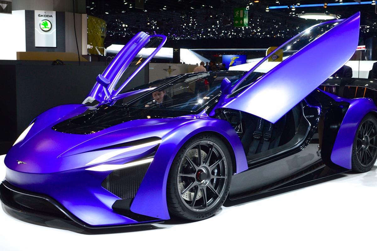 Techrules reveals the GT96 concept