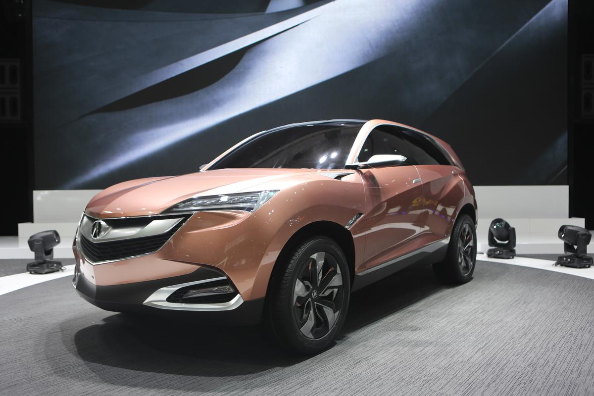 The Acura SUV-X debuts at the 2013 Shanghai Auto Show