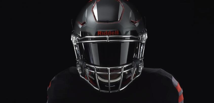 The Riddell Speedflex, with its flexible hinged panel visible at the top
