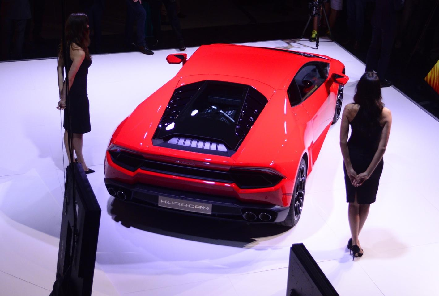 Lamborghini positions the RWD Huracan as a purer, more intense sports car experience