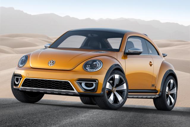 The 2014 Volkswagen Beetle Dune concept