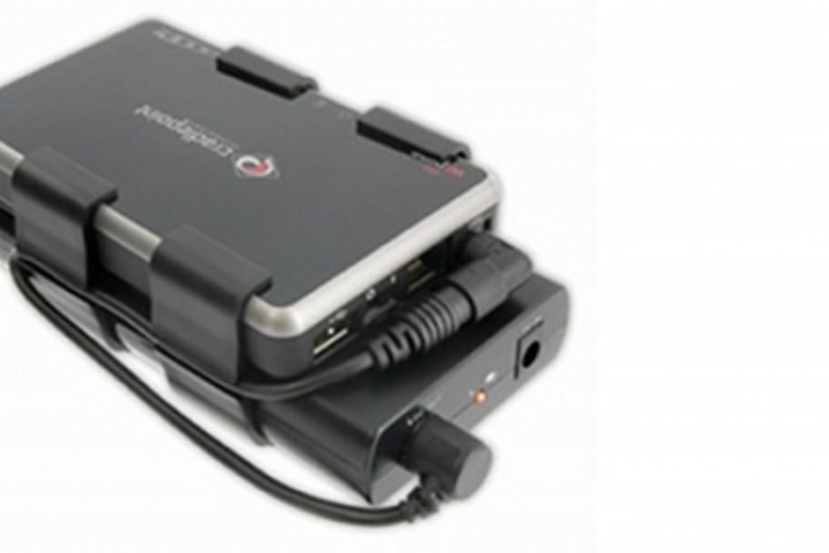 The Tekkeon MP2250 connects directly to any CradlePoint portable router.