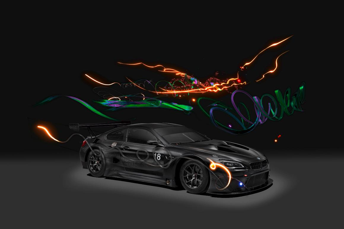 TheM6 GT3 has now served as a base for two Art Cars