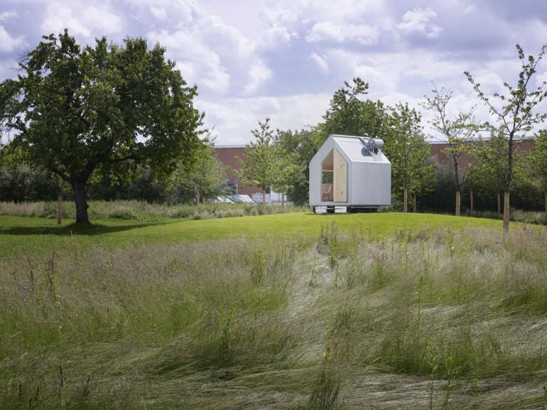 The Diogene Micro Home is the work of Italian architect Renzo Piano (Photo: Ariel Huber / Vitra)