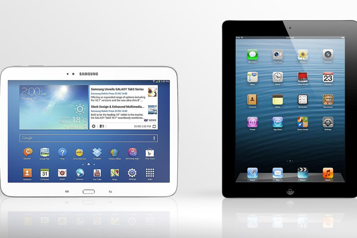 Gizmag compares the specs (and other features) of the Galaxy Tab 3 10.1 and 4th-gen iPad