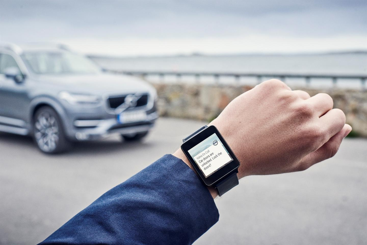 Android Wear is now supported by Volvo's On Call app
