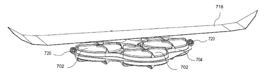 One of the proposed UAVs