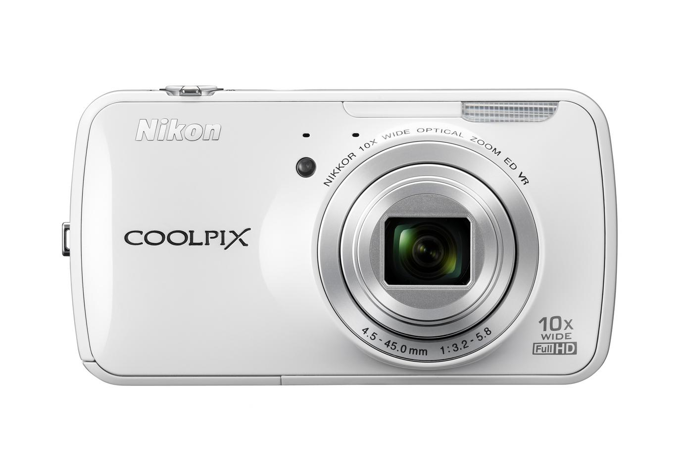 The Nikon COOLPIX S800c can be used like any Android device to surf the web, run apps and access Google Play ... but not make phone calls