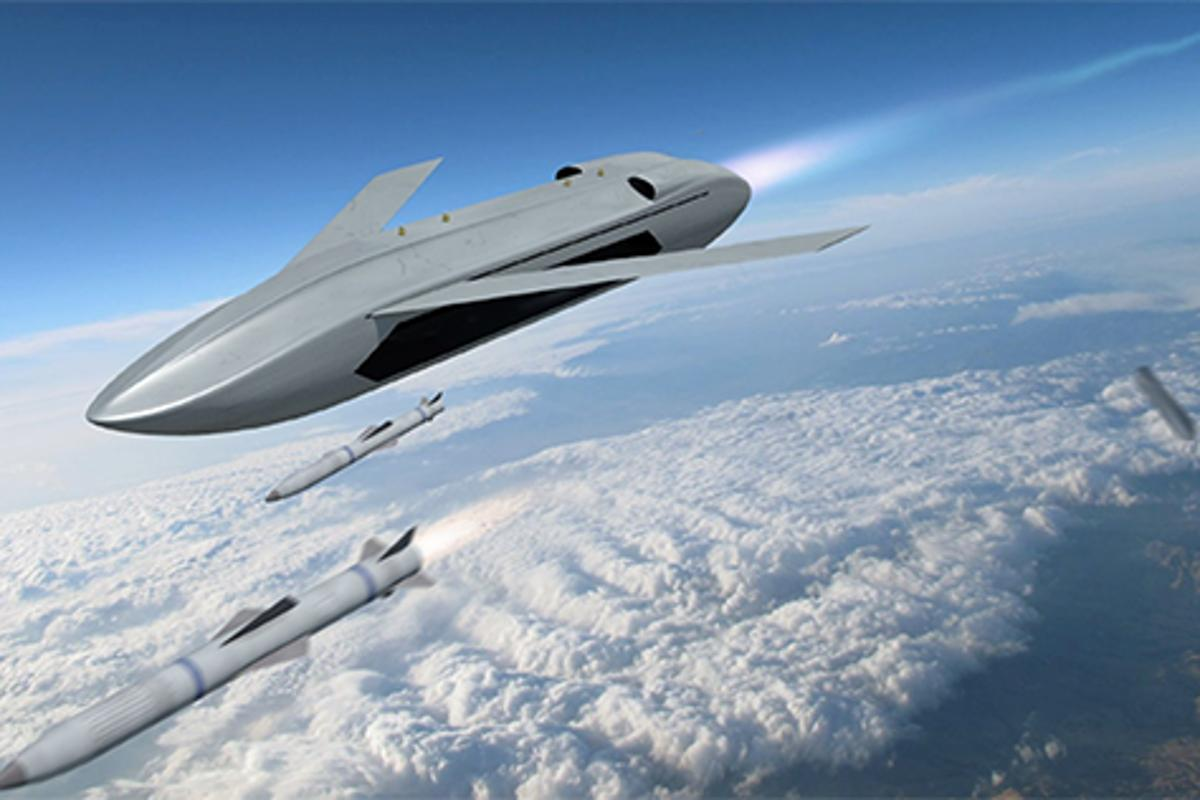 DARPA has initiated a new program to develop an unmanned aircraft capable of carrying multiple air-to-air weapons